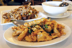 Nee House's salt-and-pepper squid