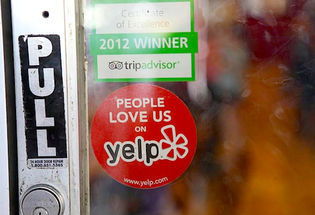 Court Affirms Yelp's  Manipulated Reviews