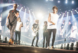 One Direction at U of Phx Stadium