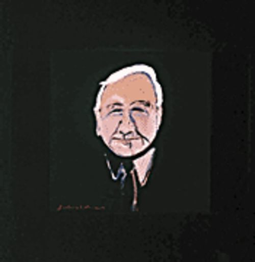 Portrait of Rudy Turk, by Fritz Scholder