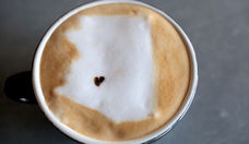 Allison DeVane of Tea & Toast Co. in Phoenix Makes Latte Art