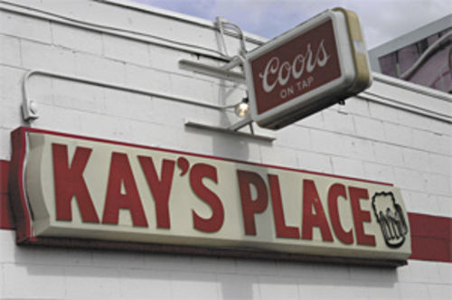 Swine o� the times: Smell the squalor at Kay�s.
