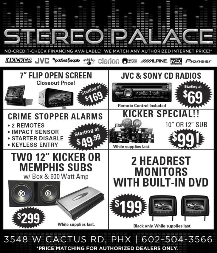 Stereo Palace