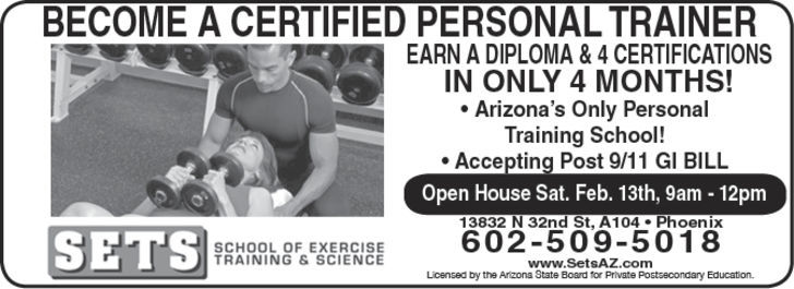 Sets School Of Exercise Training & Scien