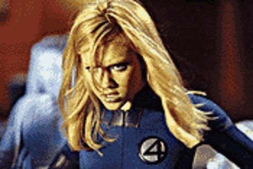 Jessica Alba in Fantastic Four.