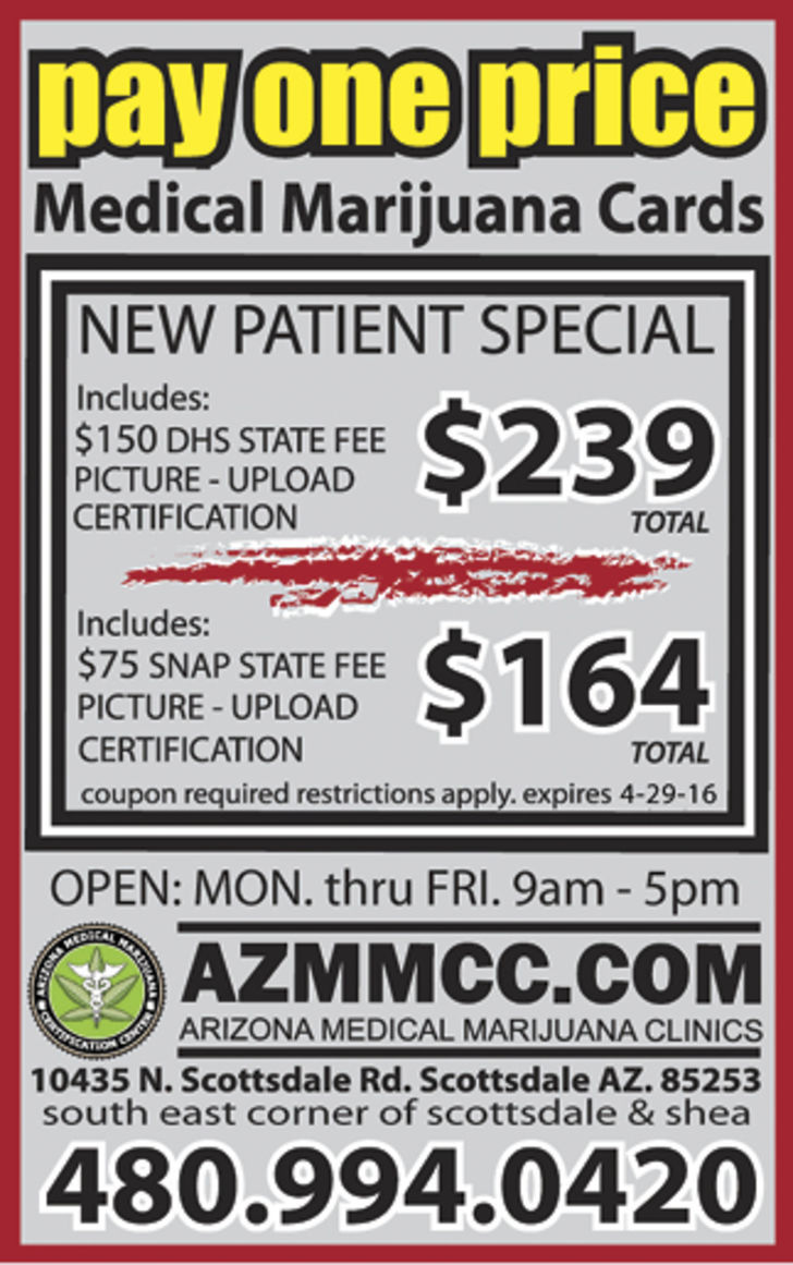 Arizona Medical Marijuana Certification