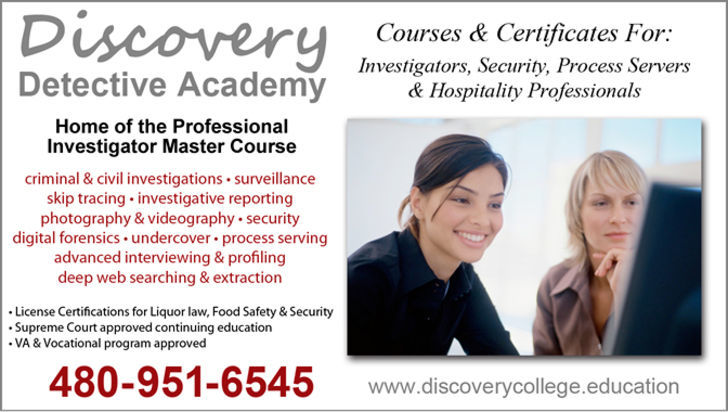Discovery Detective Academy