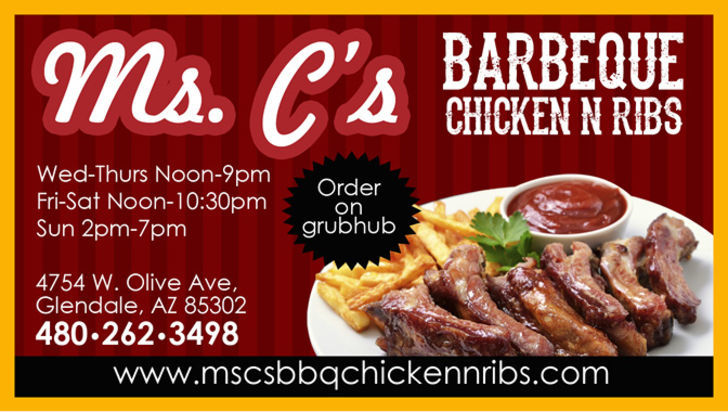 Ms C's BBQ Chicken & Ribs