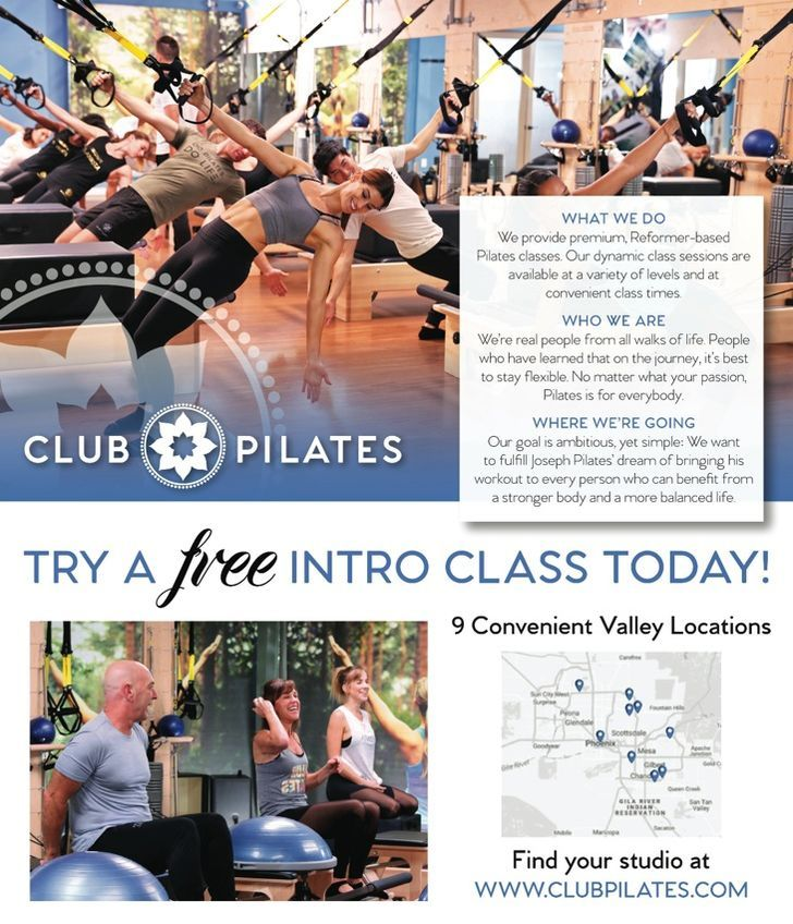 Club Pilates (corporate)