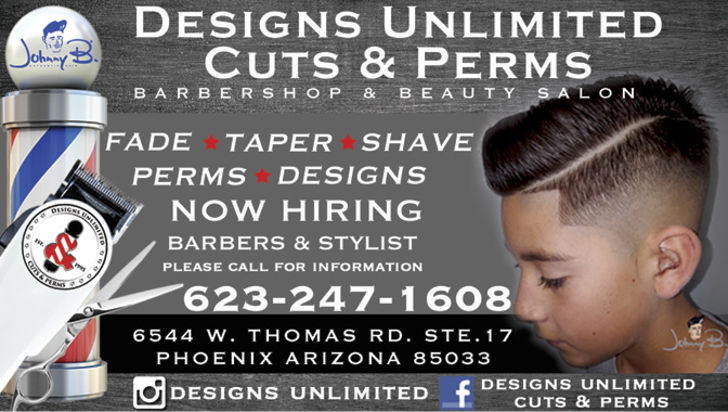 Designs Unlimited Cuts & Perms