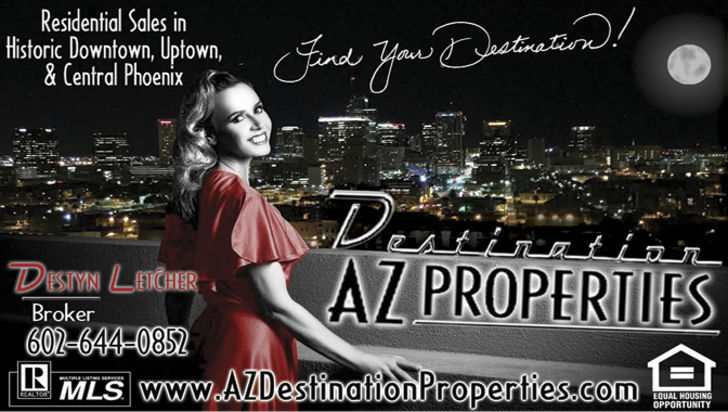 Destination AZ Properties