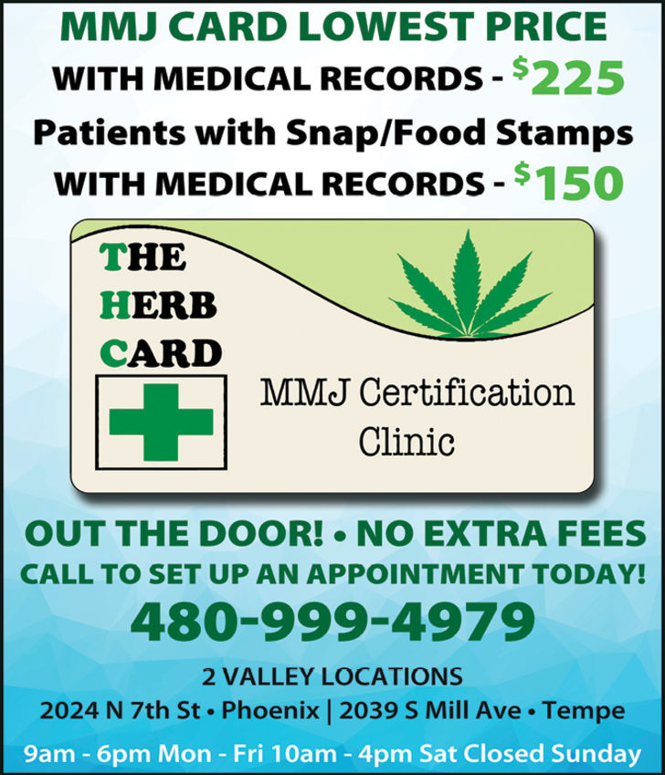 The Herb Card - MMJ Certification