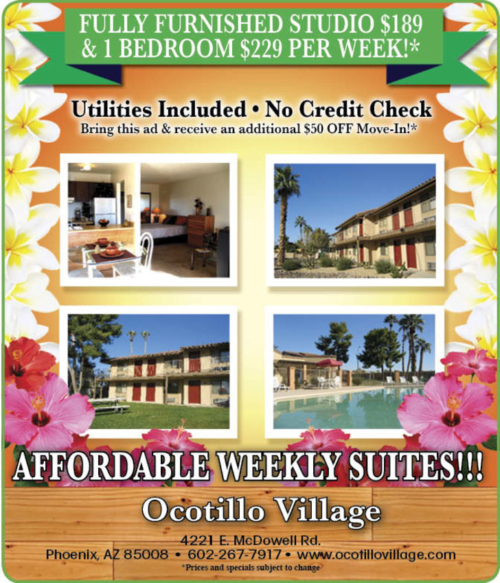 Ocotillo Village Apartments
