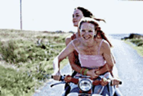 Moped through the moors: The love story of two British girls trying to escape a quiet country life.