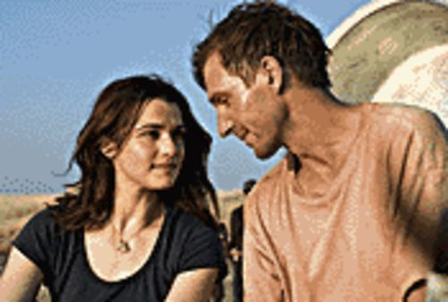 Garden-variety thriller: Rachel Weisz and Ralph Fiennes are a doomed couple in The Constant Gardener.