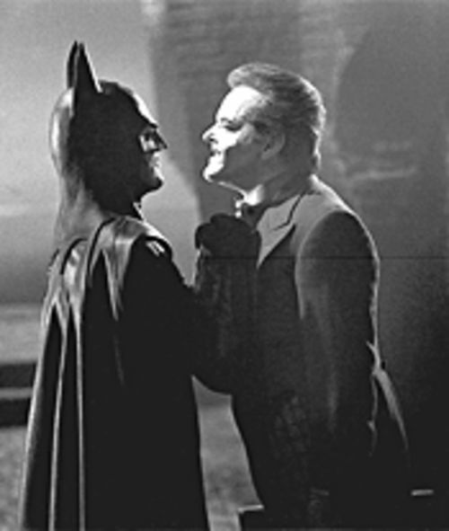 """I'm a bat. I'm a man. I'm a bat -- and a man."" Oh, just smack him, Jack."