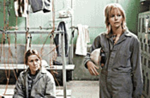 Iron maidens: Frances McDormand (left) and Charlize Theron stand up for women's rights in North Country.