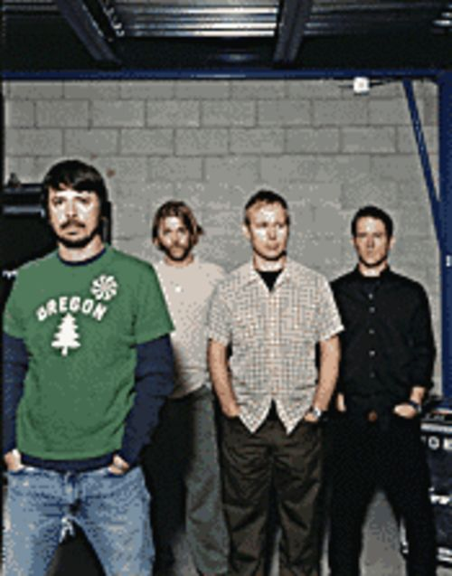 Foo Fighters: No longer iPod-friendly.