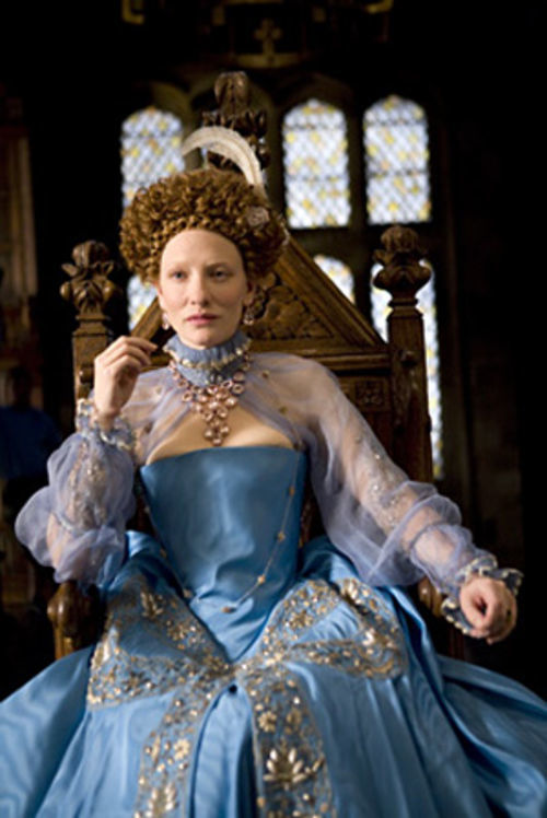 Cate Blanchett dons the royal drag again for Elizabeth: The Golden Age.