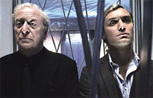 Alfie male: Jude Law (right) can�t save Kenneth Branagh�s Sleuth.