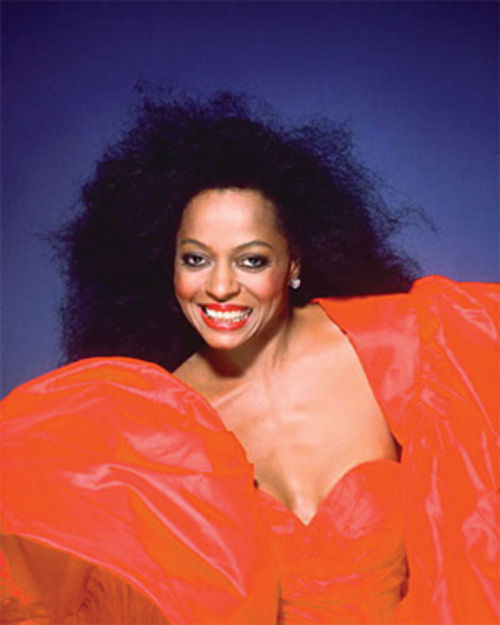 Diana Ross: She&Acirc;s coming out.
