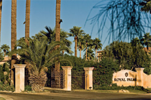 Next, he transformed the dilapidated Royal Palms into one of the finest resorts in the Southwest.