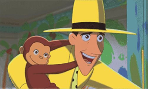 Child's play: The Man in the Yellow Hat (voiced by Will Ferrell) and the titular monkey find adventure in Curious George.