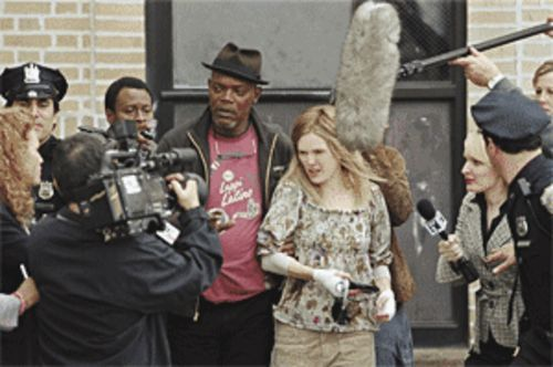 Book 'em: Samuel L. Jackson and Julianne Moore are wasted in a dumbed-down version of the novel Freedomland.
