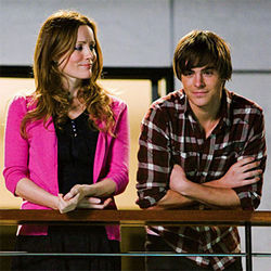 Eww: Leslie Mann and Zac Efron make us squirm in 17 Again.