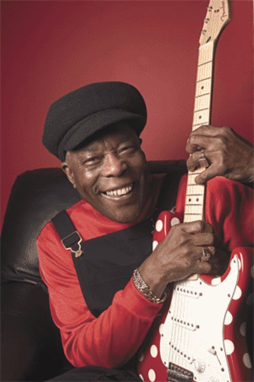 Living legend: Few bluesmen are on the level of Buddy Guy.