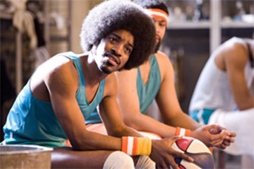 Andre 3000 stars as a subpar hoops star in Semi-Pro.