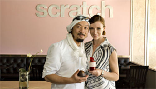 From Paris, with love: Duc and Noelle Liao celebrate the sweet life at Scratch Pastries.