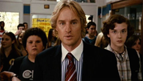 Geek squad: Owen Wilson needs a partner-in-comedy to lift Drillbit Taylor.