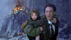 Disaster movie: John Cusack is just a prop in Roland Emmerich's CGI-fest 2012.