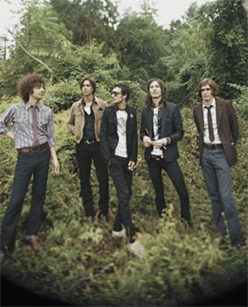 Strike a pose: The Strokes have finally gotten used to all the photo shoots.