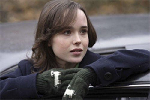That wacky Ellen Page — when is she going to start acting her age?