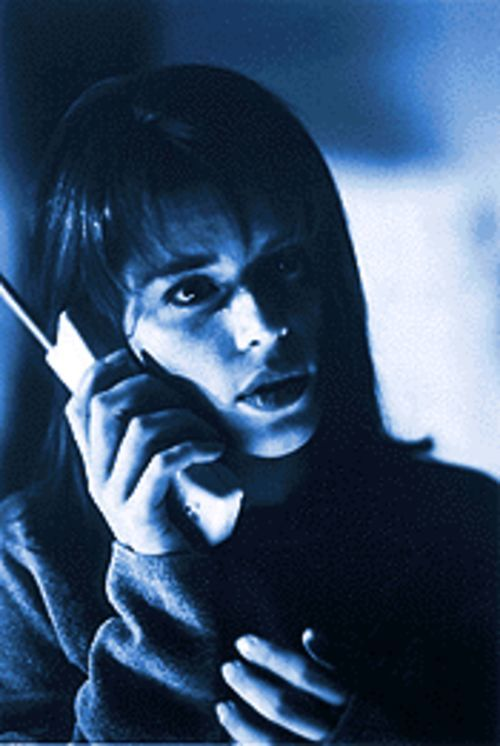 Holler ID: Neve Campbell in Scream 3.