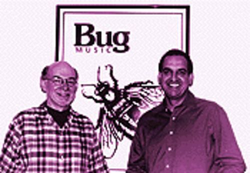 Fighting the good fight: Bug Music founders Dan and Fred Bourgoise.