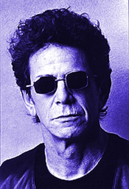 Lou Reed has never had much to smile about.