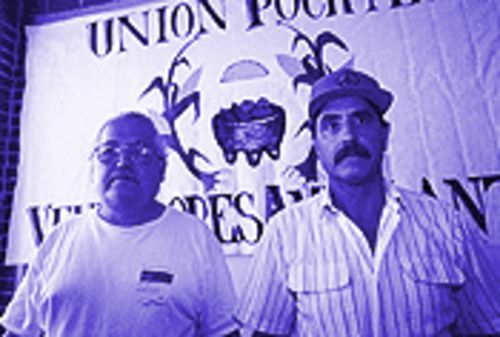 Salvador Reza (left) and Tino Rios claim they were mistreated by the city planning director.