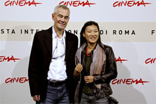 Mongol director Sergei Bodrov and Mongolian actress Khulan Chuluun