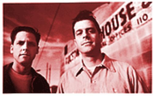 Giant steps: Joey Burns (left) and John Convertino are Calexico.