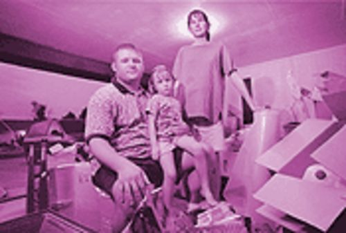 Jeff, Katie and Jenna Bettendorf are settling into a new rental house, trying to rebuild their lives.