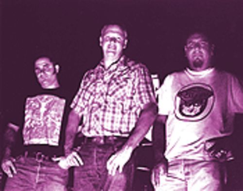 Satan rules. Here's proof: Grave Danger, from left, Rich Merriman, Kevin Daly and Vince Ramirez.