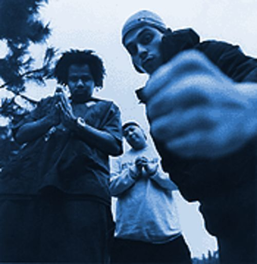 Fists of fury: Dilated Peoples beats its message home on The Platform.