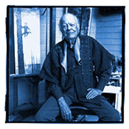 Philip Curtis at his Scottsdale studio in 1997.