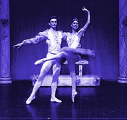 Slawomir Wozniak and Therese Wendler in The Nutcracker.