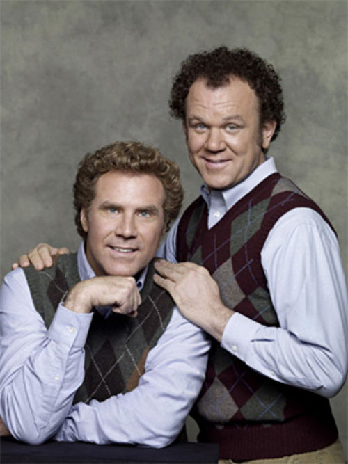 Collective id: Will Ferrell and John C. Reilly are American males in Step Brothers.