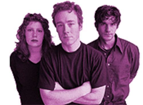 Low: From left, Mimi Parker, Alan Sparhawk and Zak Sally.