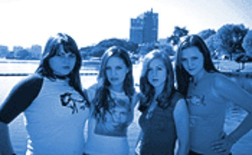 The Donnas: Of legal drinking age and ready to go.